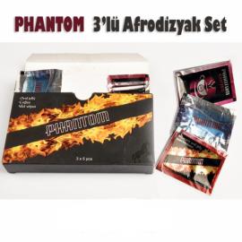 Phantom 3'lü Afrodizyak Seti