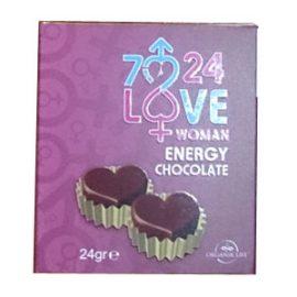 7-24 Bayan Azdırıcı Çikolata