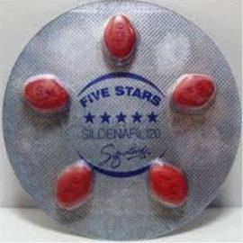 Five Stars Sildenafıl 120 mg 5 Tablet