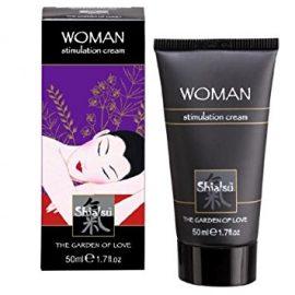 Shiatsu Bayan Uyarıcı ve Cinsel İstek Arttırıcı 50 ML Krem