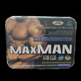 Maxman 4 12 Kapsül Ereksiyon Hapı